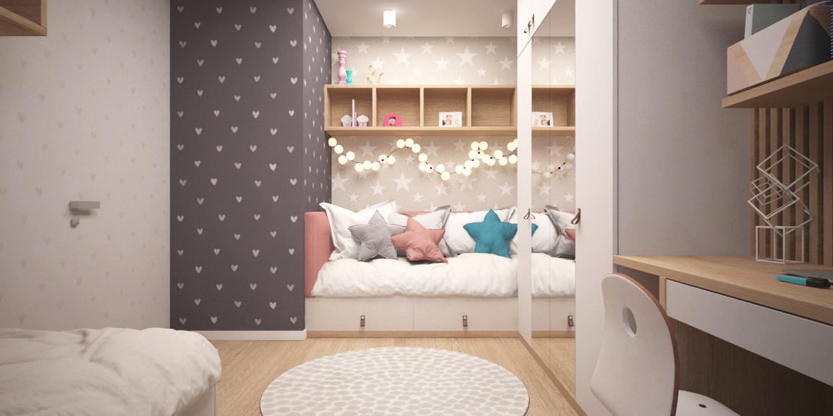 """Бра - IKEA «ФЮББЛА» Арт. 103.816.07; Обои - Esta Home """"Little Bandits"""" Арт. 128866; Esta Home """"Little Bandits"""" Арт. 128832"""
