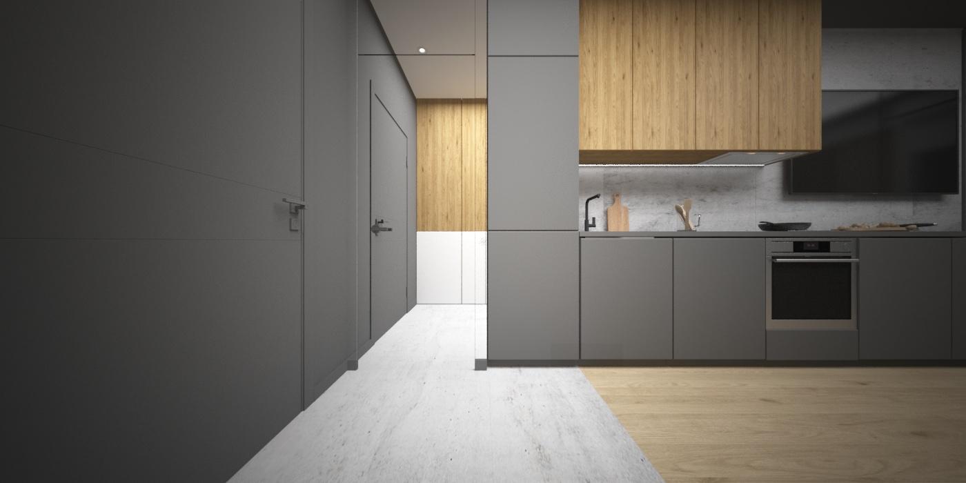 Кухонные фасады - FENIX NTM 0724