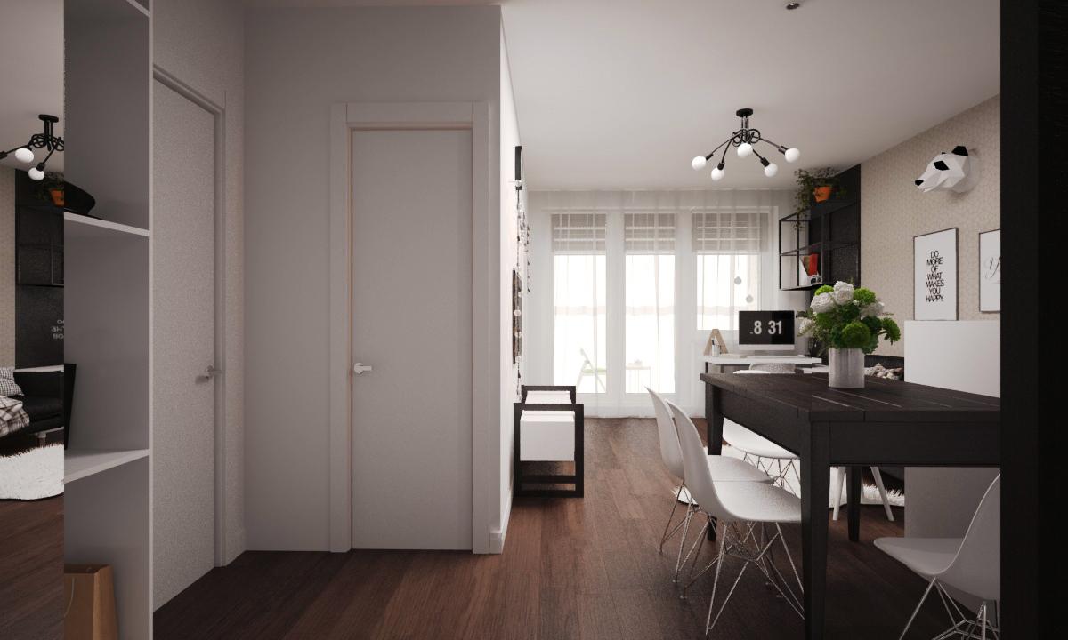 Двери - Profildoors «Серия E»  Цвет:Аляска Модель:1E