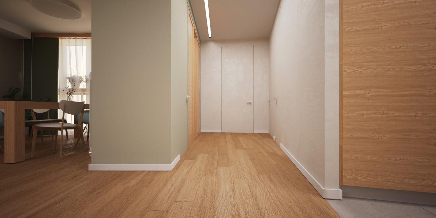 Дверь невидимка Profil Doors 0Z INVISIBLE (под отделку)