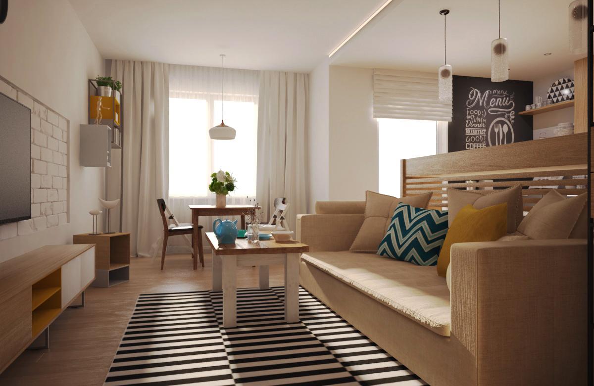"""Ковёр- IKEA «СТОКГОЛЬМ» Арт. 801.048.62 ; Стол обеденный - Signal «Felicio»;  Стулья -  Signal """"Andre""""; Складные стулья - Signal «Smart»"""