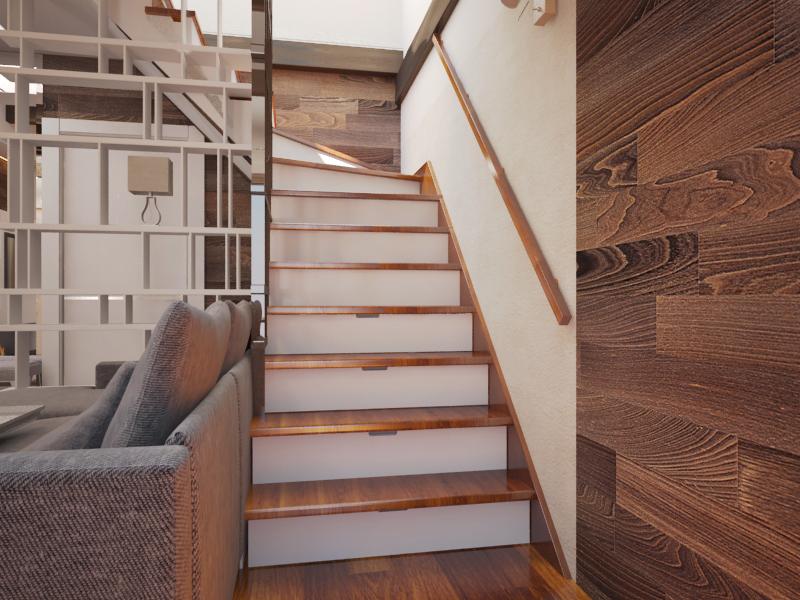 Лестница ракурс 1