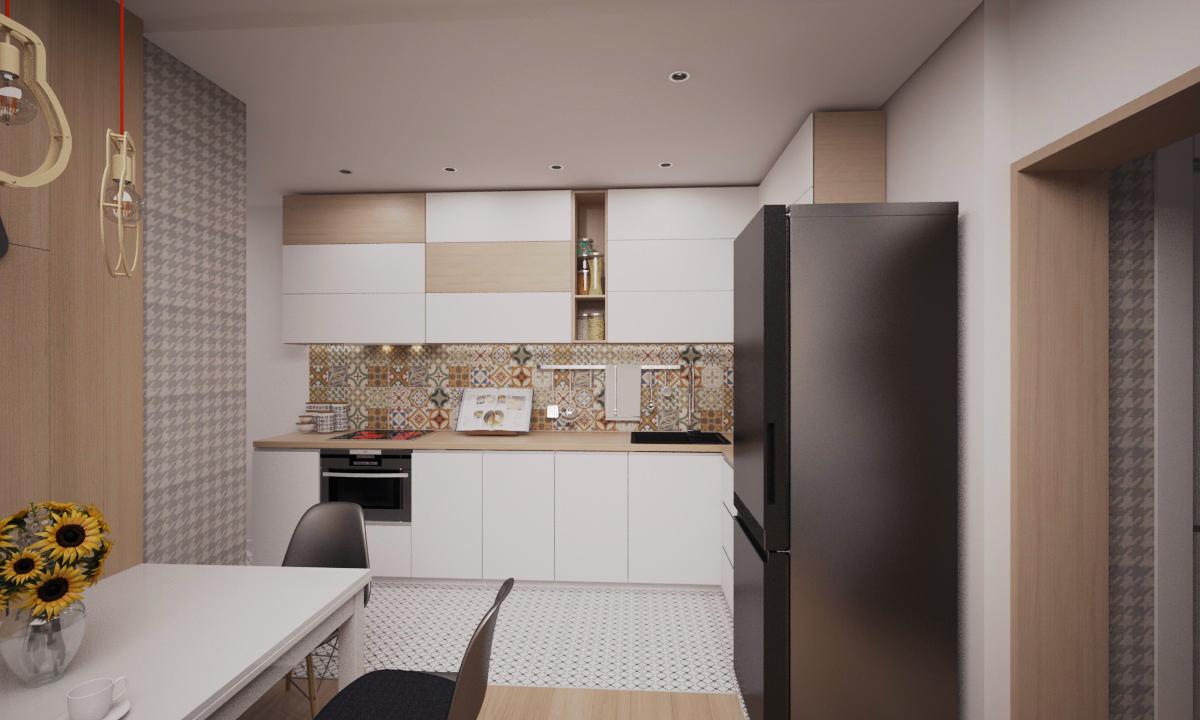 Плитка на фартук -  Roca(для стен) «Gracia Multicolor» 31x61
