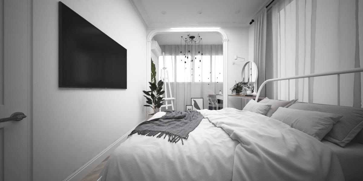 """Встроенные светильники - Gauss """"Gypsum"""" Арт. GY006; Бра (с поворотным штативом,белый) - IKEA """"НИМОНЕ""""  Арт. 803.570.10"""