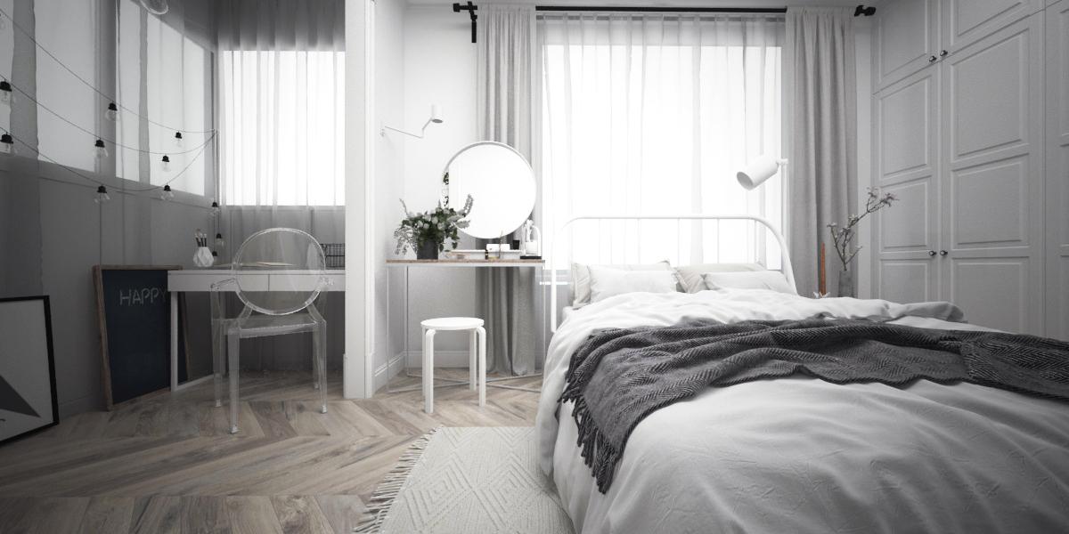"""Табурет к туалетному столику  - IKEA """"ФРОСТА""""  Арт. 203.778.03; Настольное зеркало (белое) - IKEA """"ВЕННЕСЛА""""  Арт. 803.982.61; Стул на балконе  - Signal  """"Луиса"""""""